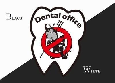 デンタルオフィス ブラック&ホワイト